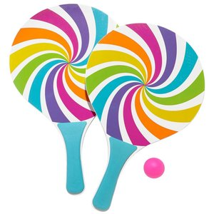 Candy Swirl Paddle Ball Set
