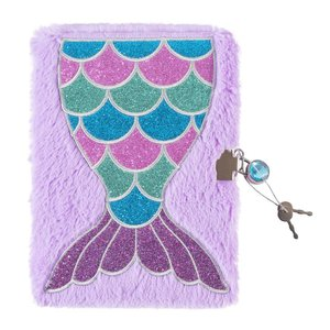 Mermaid Plush Journal