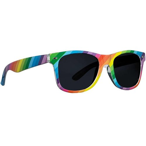 Rainbow Stripe Sunglasses