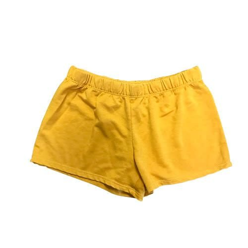 Gold Firehouse Shorts