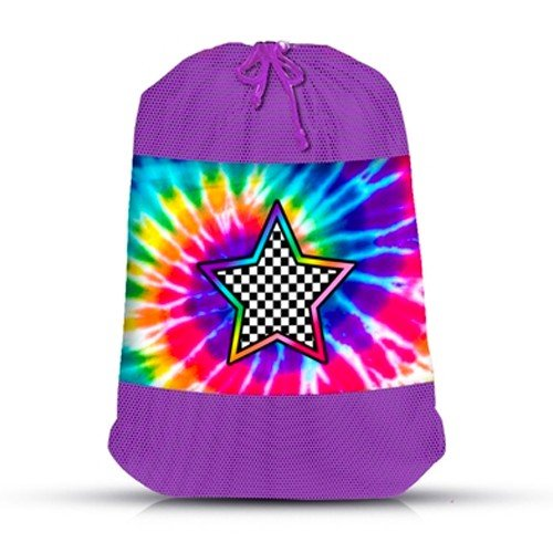 Star Power Mesh Sock Bag