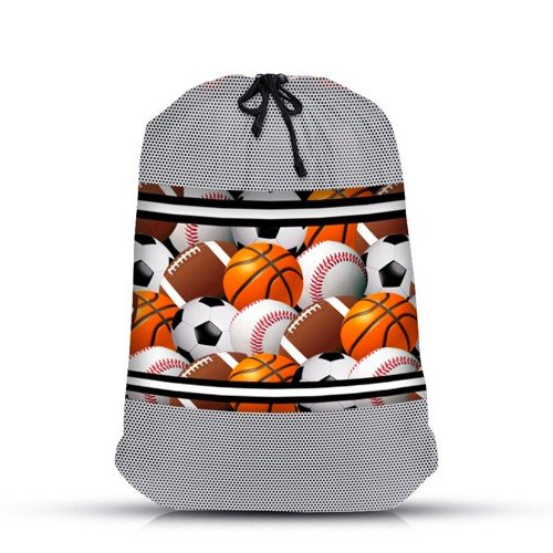 Large Sports Balls Mesh Sock Bag