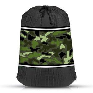 Camo Mesh Sock Bag