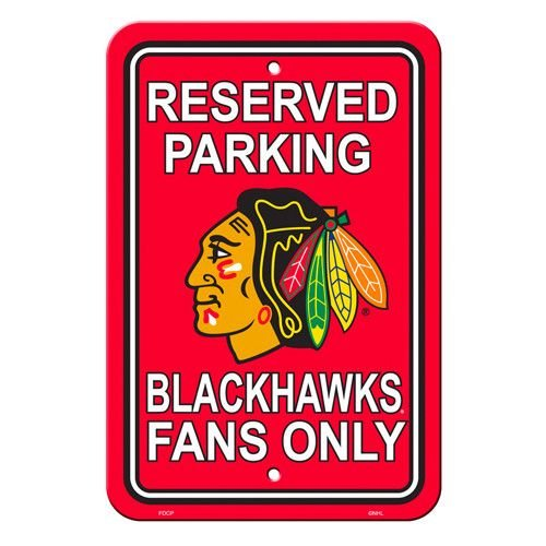 Chicago Blackhaws Fans Sign
