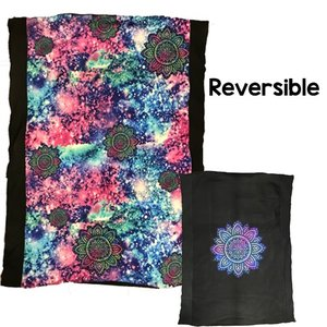 Flower Galaxy Comforter