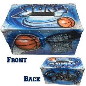 Airbrushed Sports Mini Trunk