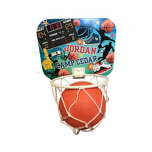Boy Collage Basketball Hoop