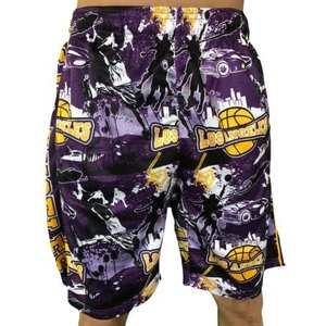 Lakers Flow Society Shorts