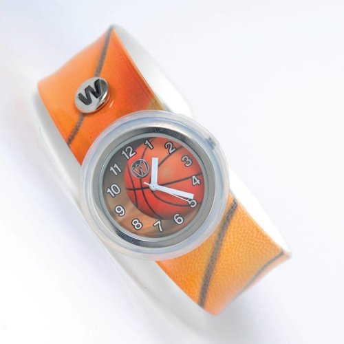 Basketball Waterproof Slap Watch