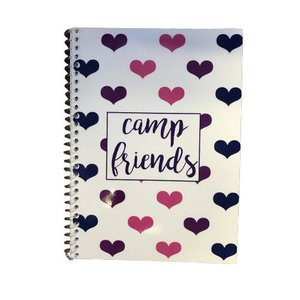 Floating Hearts Address Book