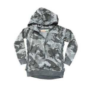 Soft Camo Side Lace Hoody