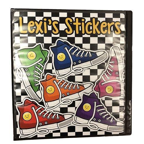 Checkered Sneakers Sticker Book