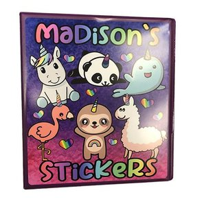 Cutiecorns Sticker Book