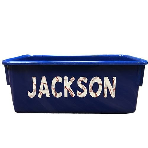 Sports Letters Storage Tub