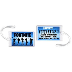 Fortnite Luggage Tag
