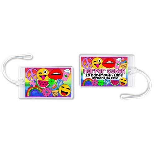 Rainbow Vibes Luggage Tag