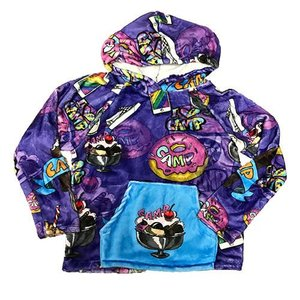 Camp Sundae Fuzzy Pullover