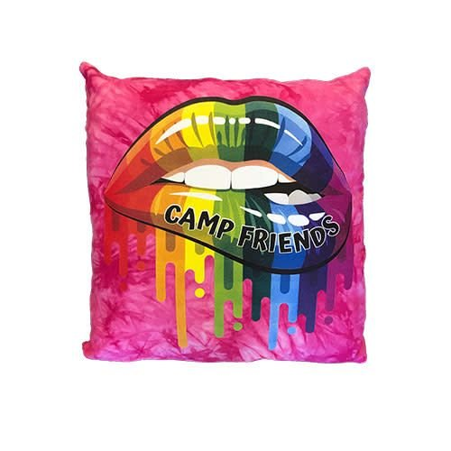 Camp Friends Lips Autograph Pillow