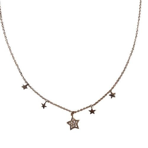 Sparkly Stars Necklace