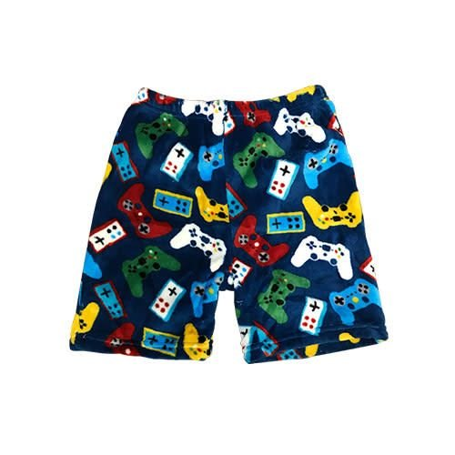 Gamer Remotes Fuzzy Bermuda Shorts