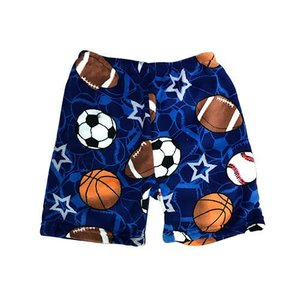 Sports on Sports Bermuda Fuzzy Shorts