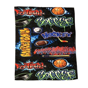Crazy Sports Blanket