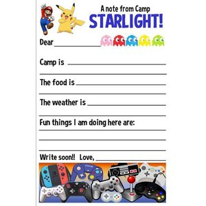 Controller Fill-In Notecards