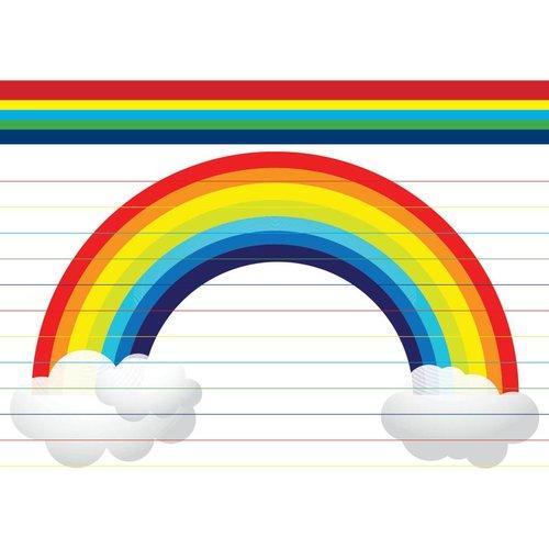 Giant Rainbow Notecards