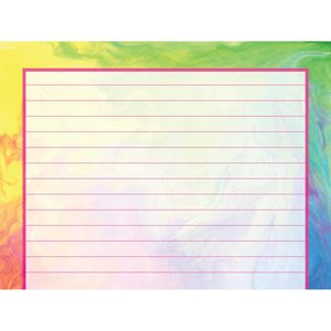 Rainbow Tie Dye Notecards