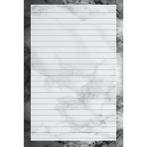 Black Marble Notepad