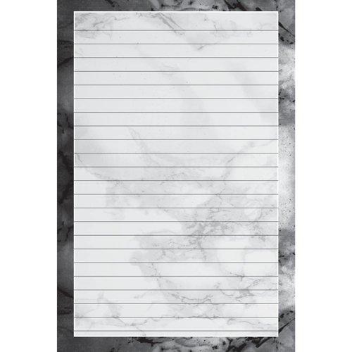 Black Marble Notepad