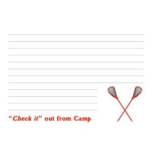 Check It Out Camp Notecards