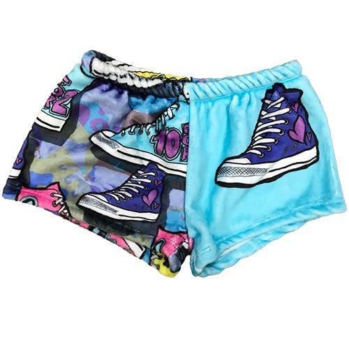 Camp Sneaker Fuzzy Shorts