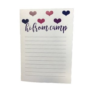 Floaty Hearts Notepad