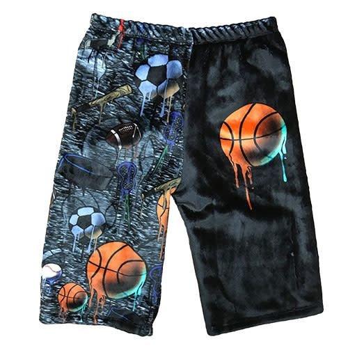 Sport Drip Fuzzy Shorts