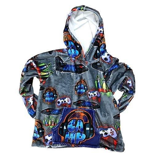 Camp DJ Splatter Fuzzy Pullover