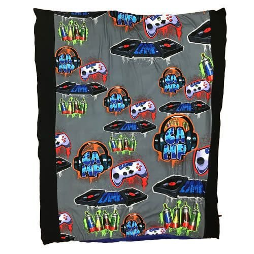 Camp DJ Splatter Reversible Comforter