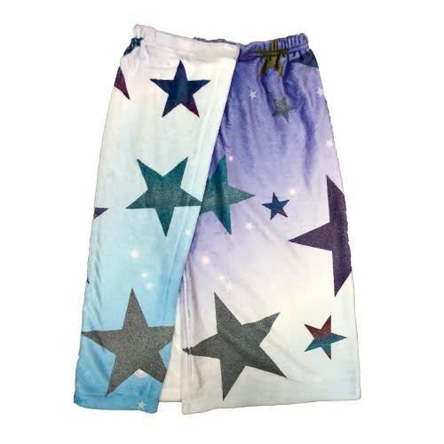 Glitter Star Towel Wrap
