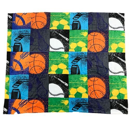 Graffiti Sports Throw Blanket