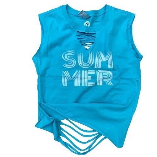 Summer Ribboned Muscle Shirt