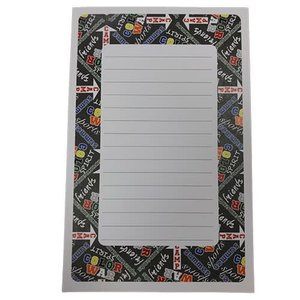 Boy Camp Graffiti Lined Notepad