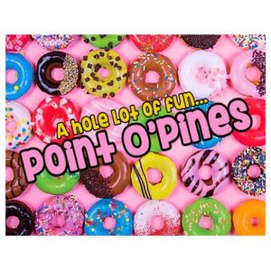 Dozens Of Donuts Notecards