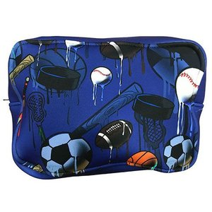 Sport Drip Blue Neoprene Dopp Kit