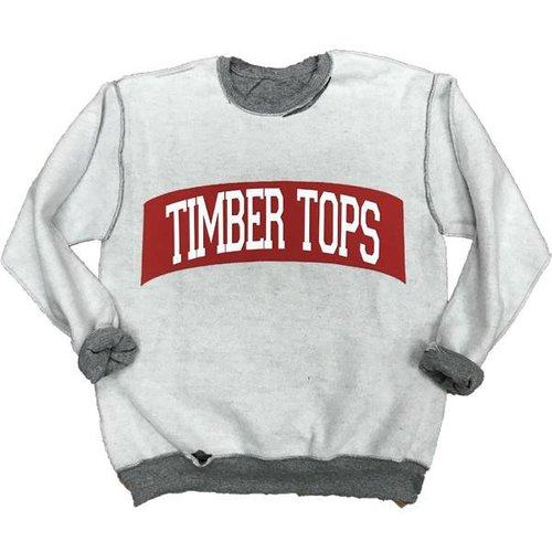 Reverse Holey Oxford Sweatshirt