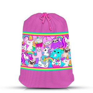 100% Unicorn Mesh Laundry Bag