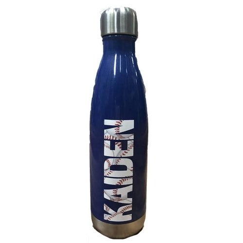 Sports Name Insulated Water Bottle