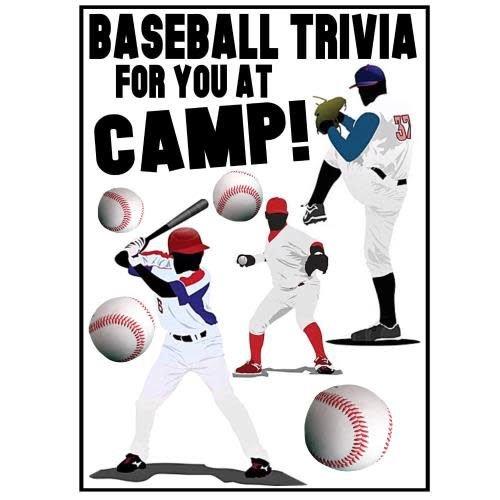Baseball Trivia Camp Card