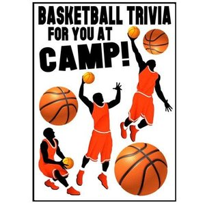 Basketball Trivia Camp Card