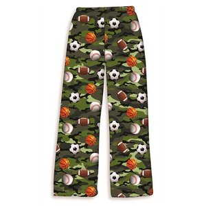 Camo Sports Fuzzy Pants
