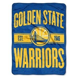Golden State Warriors Fuzzy Throw Blanket